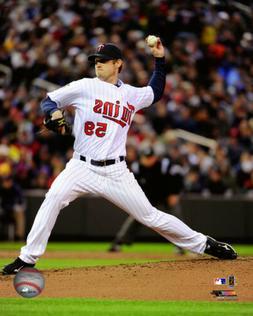 MLB Baseball Kevin Slowey Minnesota Twins Framed Photo Pictu
