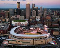 MLB Baseball Stadium Target Field Minnesota Twins Framed Pho