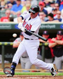 MLB Baseball Trevor Plouffe Minnesota Twins Framed Photo Pic