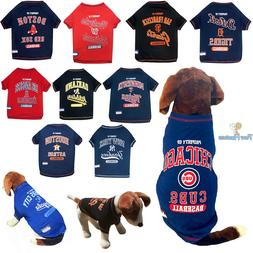 MLB Fan Pet Gear Dog Shirt Dog Tee for Dogs Puppy -PICK YOUR