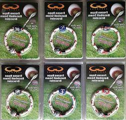MLB Frozen Rope Baseball Seam Bracelet - Pick Team