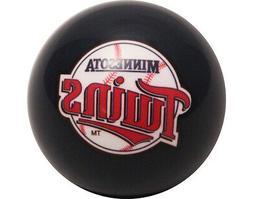 MLB Imperial Minnesota Twins Pool Billiard Cue/8 Ball - Old