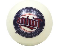 MLB Imperial Minnesota Twins Pool Billiard Cue/8 Ball - Whit