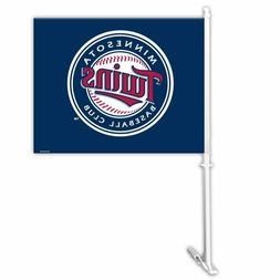 MLB Minnesota Twins Car Flag