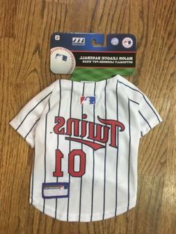 Pets First MLB Minnesota Twins Dog Jersey, Small