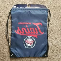 MLB Minnesota Twins Drawstring Bag Backpack Bag Baseball