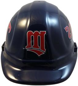 MLB MINNESOTA TWINS OSHA Approved Hard Hat Ratchet-Pin Type
