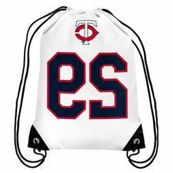 MLB Minnesota Twins Rod Carew Hall of Fame Player Drawstring