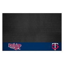 FANMATS MLB Minnesota Twins Vinyl Grill Mat
