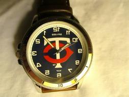 MLB MINNESOTA TWINS Wrist Watch - NEW