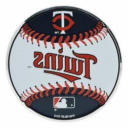 MLB Officially Licensed Baseball Minnesota Twins Aluminum Em
