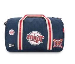 New Minnesota Twins New Era MLB Heratige Patch Duffle Bag Ne