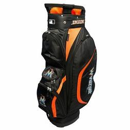 New MLB Team Golf Miami Marlins Clubhouse Golf Cart Bag