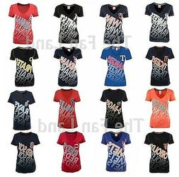 New MLB Women's Athletic Baby Jersey T-Shirt