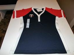 New Official   MLB MINNESOTA TWINS Women's Shirts Small,Med,