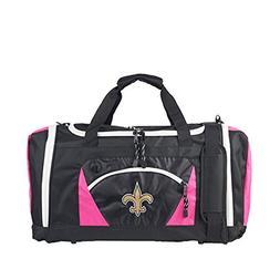 NFL New Orleans Saints Embroidered RoadBlock Duffel Bag , 20