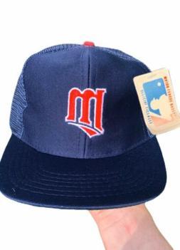 NWT Deadstock Vintage 1990s MLB Minnesota Twins Snapback Tru