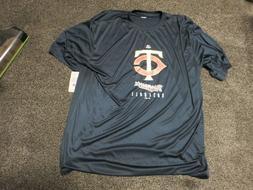NWT Minnesota Twins MLB Majestic Men's Tee Shirt SIZE 3XL 10