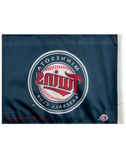 "NWT MLB Minnesota Twins Baseball Car Flag 11"" x 15"" 2-Side F"