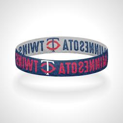 Reversible Minnesota Twins Bracelet Wristband Twins Territor