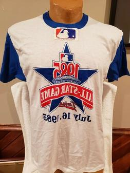 VINTAGE Minnesota Twins Adult XL White 1985 All Star Game T-