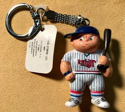 Vintage MINNESOTA TWINS Baseball Collectible Keychain Lil Sp