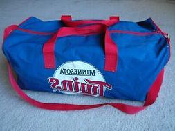 Vintage Minnesota Twins Duffel Bag Michelob Golden Draft w/
