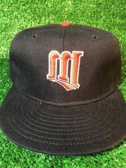 VTG MINNESOTA TWINS NEW ERA PRO MODEL FITTED 7 3/8 CAP HAT M